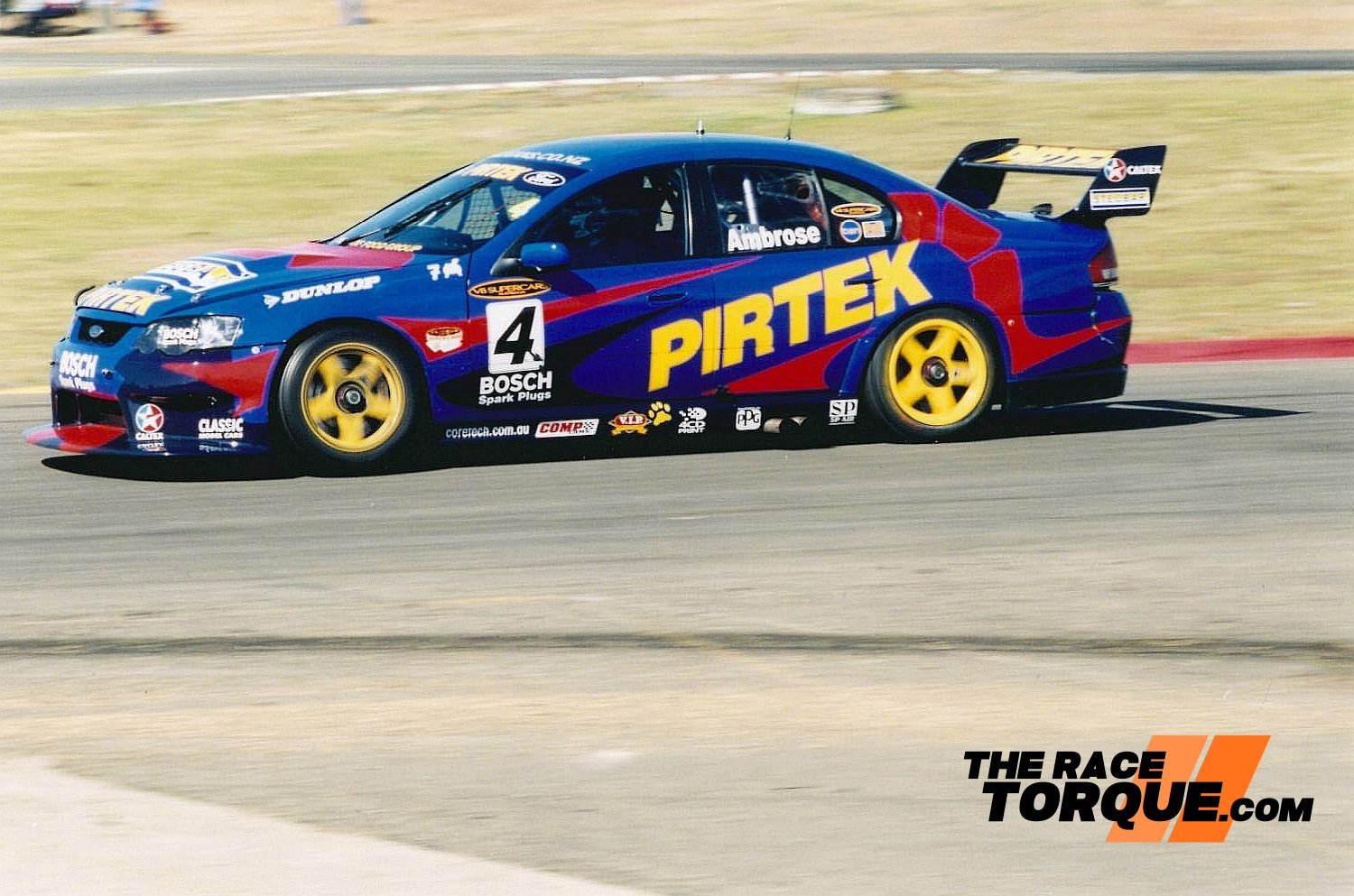 Ambrose in action later in the year at Oran Park